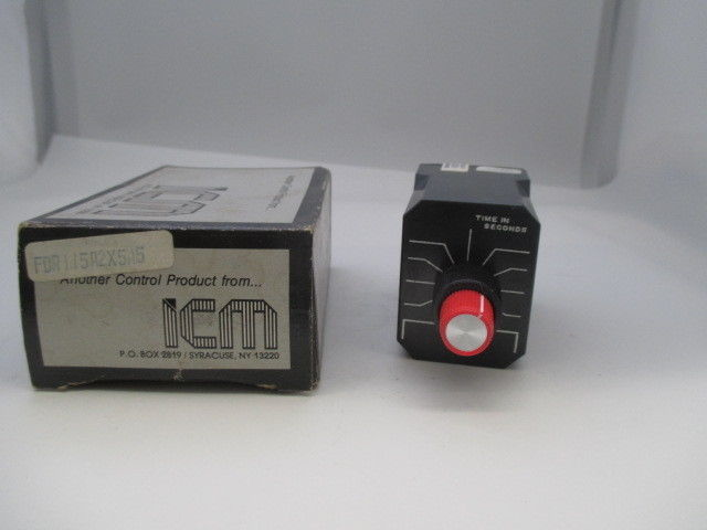 ICM FDR115A2X5A5 Timing Relay  new