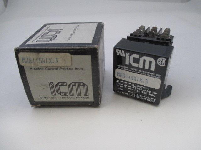 ICM MAR115A1X.3 Relay  new