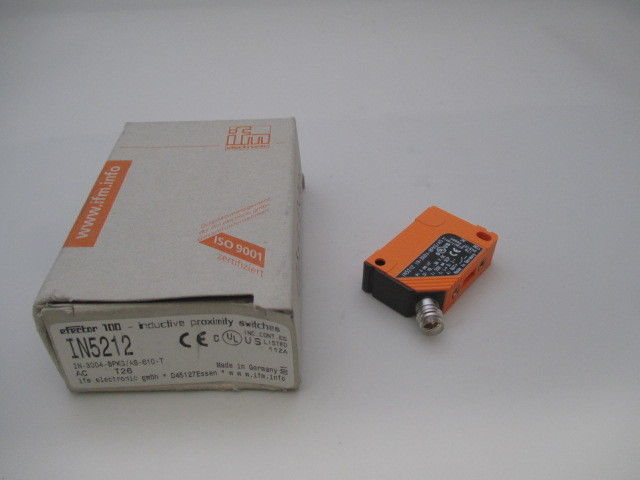 IFM Efector IN5212 IN-3004-BPKG/AS-610-T Inductive  Sensor new