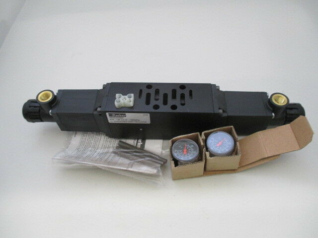 Parker PS4038266P H1 Independent Port Regulator w/ gauges