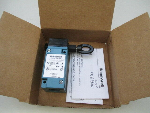 Honeywell Micro Switch CLSB3B Cable Pull Safety Switch new