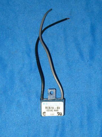R-K Electronics Transient Voltage Filter RCS1A-6V *New*