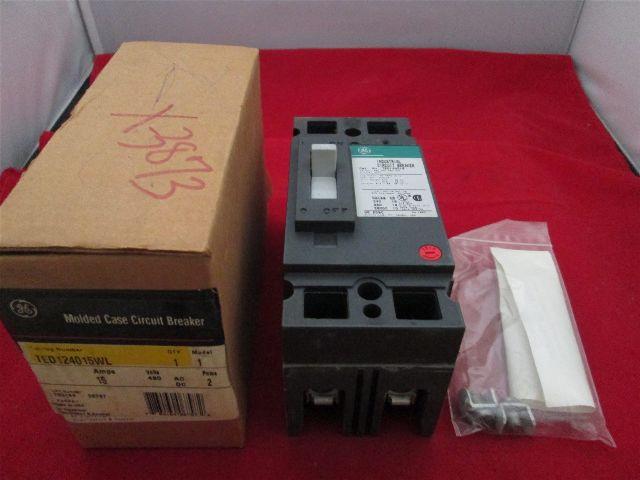 GE General Electric TED124015WL Circuit Breaker new