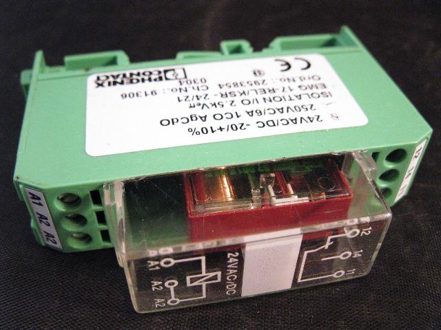Phoenix Contact Relay Module EMG 17-REL/KSR-24/21 2953854