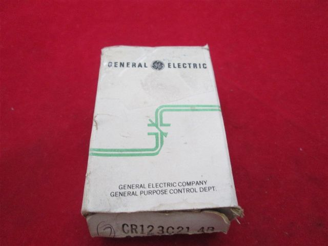 GE General Electric CR123C21.4B Heater new