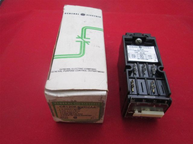 GE General Electric  CR120K40002AA Power Relay new