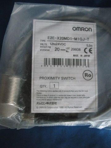 Omron Proximity Sensor E2E-X20MD1-M1GJ-T  new
