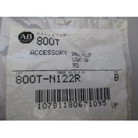 Allen Bradley 800T-N122R Lens Cap Red qty 6