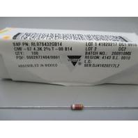 Vishay Dale RL07S432GB14 1/4watt 4.3Kohms 2% Resistor qty 100 new