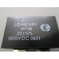 LO-HENRY MP88 CAPACITORS Lot of 4