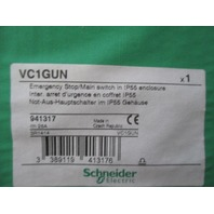 Schneider VC1GUN Emergency Stop/Main Switch new
