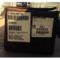 """Waukesha Cherry Burrell WVALVE01743 W62TT 3.0"""" Sanitary Valve  new"""