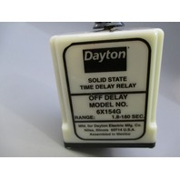 Dayton Solid State Time Delay Relay 6X154G