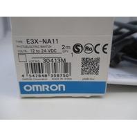 Omron E3X-NA11 Amplifier Sensor new