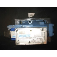 Vickers # DG5S8 0A MWR 20 2-way directional valve with single acting