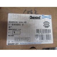 """Chemtrol Nibco S45BC-V 3"""" Check Valve new"""