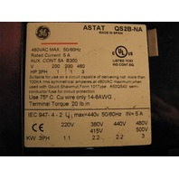 GE General Electric Solid State Reduced Voltage Starter ASTAT QS2B-NA