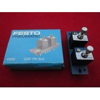 Festo  GRF-PK-3x2 Flow Control Valve new