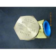 Asco V01217 Brass Steam Check Valve new