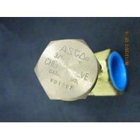 Asco V01217 Brass Steam Check Valve new