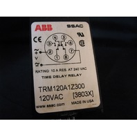 SSAC ABB Time Delay Relay TRM120A1Z300