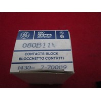 GE General Electric 080B11V Cema Contact Block new