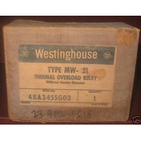 Westinghouse Thermal overload relay MW-21 MW21 NIB