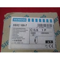 Siemens Miniature Circuit Breaker 5SX2 105-7 new