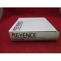 Keyence FU-65 Fiber Optic Sensor new