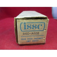 ISSC R40-A605 Solid State Proximity Switch