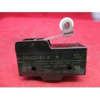 Omron Limit Switch A-20GV22-B7-K