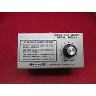 Banner Motor Speed Sensor MRS-1