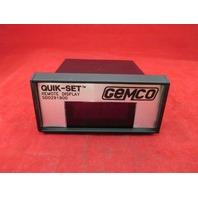 Gemco SD0291900 Quik-Set Remote Display