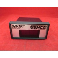Gemco SD0291900 Quik-Set Remote Display