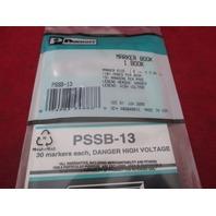 Panduit Marker Book PSSB-13 new