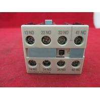 Siemens 3RH1921-1FA31 Auxiliary Contact