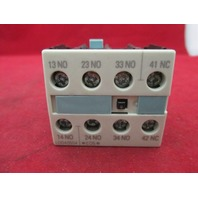 Siemens 3RH1921-1FA31 Auxiliary Contact