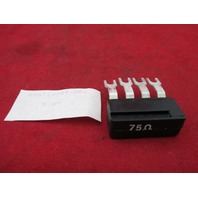 GE 44A713909-004 Terminal Plug 75 Ohms