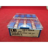 Union Butterfield 1011044 3/8-24 H3 4F Hand Tap Set 1500-S