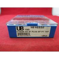 Union Butterfield 1010332 7/16x20 H3 3F Plug SP PT Tap 1585