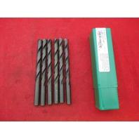 Precision 010025 Jobber Length R10 25/64 HSS Black Oxide