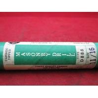 Precision Masonry Drill D888 11/16