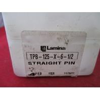 Lamina TPB-125-X-6-1/2  Straight Pin new