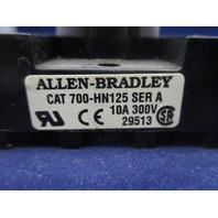 Allen-Bradley 700-HN125 Series A  Socket Relay Black