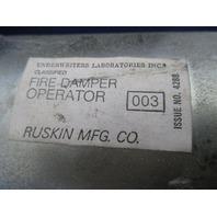 Ruskin  Fire Damper Operator