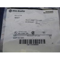 Allen-Bradley Pilot Light LED Lamp 800T-N319W