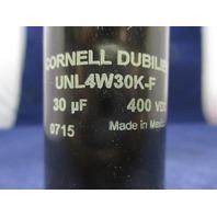 CDE Capacitor UNL4W30K-F