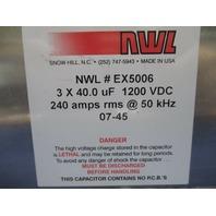NWL EX5006 CApacitor