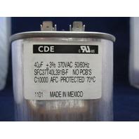 CDE Capacitor SFC37T40L391B-F