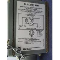 Allen Bradley 836T-T253JX24X9 Pressure Switch